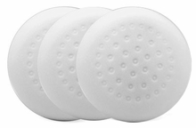 1-Pad White Foam Polishing Pads, 3 pack