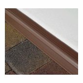 10' Garage Door Seal in Brown
