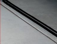 16' Garage Door Seal in Black
