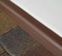 16� Garage Door Seal in Brown