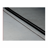 18' Garage Door Seal in Black