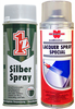 1Z Silver Spray Wheel Paint and Wurth High Gloss Clear Lacquer