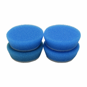 2 inch Coarse Blue Heavy Cutting Foam Pad - 4 Pack