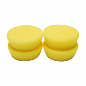 2 inch Light Yellow Polishing Foam Pad - 4 Pack
