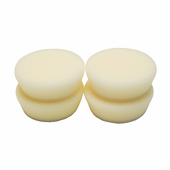2 inch Soft White Finishing Foam Pad - 4 Pack