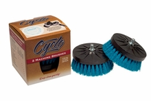 2 Pack Cyclo Polisher Aqua Soft Carpet Brush
