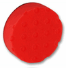 2 Pack  of 4 inch CCS Spot Buff Red Pads