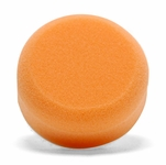 3 Inch Flat Orange Light Cutting Foam Pads - 2 Pack