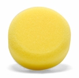 3 Inch Flat Yellow Cutting Foam Pads - 2 Pack