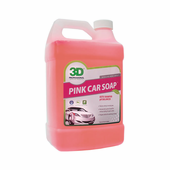 3D Pink Car Soap 128 oz.
