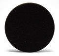 4 Inch Flat Black Finishing Foam Pads - 2 Pack
