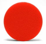 4 Inch Flat Red Wax/Sealant Foam Pads - 2 Pack