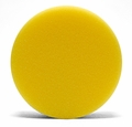 4 Inch Flat Yellow Cutting Foam Pads - 2 Pack