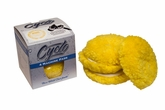 4 Pack Cyclo 4 Inch Yellow Medium Cutting Wool Pad