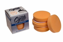 4 Pack Cyclo Premium Orange Foam Pads