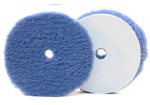 6 Inch Hybrid Power Finish Blue Wool Pad (Single) - LC-HYB-150BW