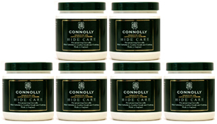 6 Pack Connolly (Hide Food) Hide Care Leather Conditioner