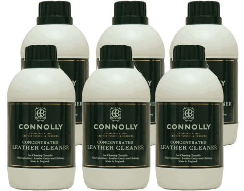 6 Pack Connolly Leather Care Cleaner