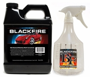 64 oz. BLACKFIRE Wet Diamond Waterless Wash Concentrate & 36 oz. Detail Bottle