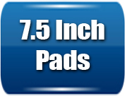 7.5 inch pads