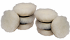 8 Pack Cyclo 4 inch Light Cutting Wool Pads
