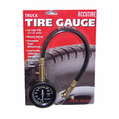 Accutire Heavy Duty Truck Tire Pressure Gauge