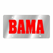 Alabama Crimson Tide NCAA Team License Plate