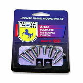 Altec Premium License Plate Mounting Kit