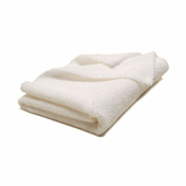 Arctic White Microfiber Towel, 16 x16 inches