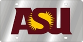 Arizona State Univ. NCAA Team License Plate