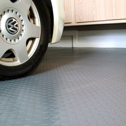 BLT Coin Pattern Garage Mat Floor Covering