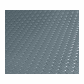 BLT Diamond Pattern Garage Floor Mat Covering 7.5� x 17�