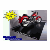 BLT Motorcycle Garage Mat