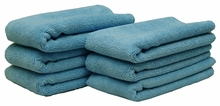 Blue All Purpose Microfiber Towels 6 Pack