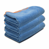 Blue SilverClean Interior Detailing Towels, 16 x 16 inches � 3 Pack