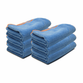 Blue SilverClean Interior Detailing Towels, 11 x 11 inches