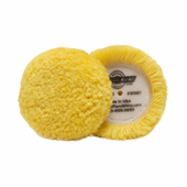 Buff and Shine 3 inch Wool Polishing Grip Pad - 2 Pack