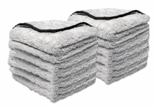 Buff & Gloss Spray Wax Towel, 12 Pack