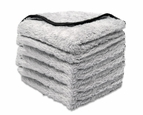 Buff & Gloss Spray Wax Towel, 6 Pack