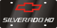 Chevy Silverado HD Logo/Word