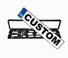 CUSTOM Finland License Plate & Frame