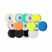 Cyclo 4 Inch Premium Foam Pads & Pad Holders