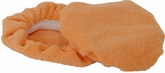 Deluxe 6 Inch Orange Microfiber Bonnets 2 Pack