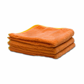 Deluxe Mega Towel Coral, 16 x 16 inches - 3 Pack