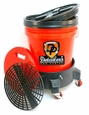 Detailer's Complete Wash Bucket System with Dolly