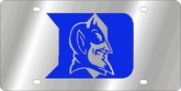 Duke Blue Devils NCAA Team License Plate