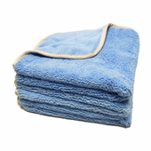 Earth Blue Elite Microfiber Towel with Absorbent Banding - 3 Pack