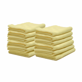 Edgeless Microfiber Polishing Cloth - 12 Pack