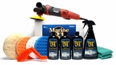 FLEX PE14-2-150 Marine 31 Boat Oxidation Removal Kit <font color=red>Includes FREE Flex Bag - $50 Value!</font>