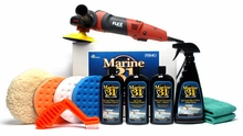 FLEX PE14-2-150 Marine 31 Boat Oxidation Removal Kit Includes FREE Flex Bag - $50 Value!